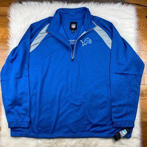 Detroit Lions Men's Embroidered Track Jacket 5XL